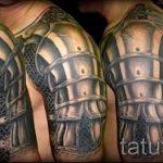 тату латы доспехи - пример готовой татуировки от 16052016 4
