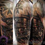 тату латы доспехи - пример готовой татуировки от 16052016 8