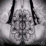 тату мандала для девушек - фото пример готовой татуировки от 01052016 3