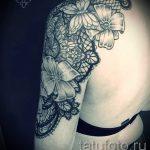тату мандала для девушек - фото пример готовой татуировки от 01052016 4