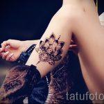 тату мандала лотос - фото пример готовой татуировки от 01052016 10