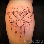 тату мандала лотос - фото пример готовой татуировки от 01052016 13