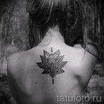 тату мандала лотос - фото пример готовой татуировки от 01052016 4