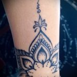тату мандала на запястье - фото пример готовой татуировки от 01052016 5