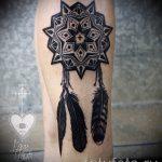 тату мандала на руке - фото пример готовой татуировки от 01052016 11