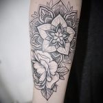 тату мандала на руке - фото пример готовой татуировки от 01052016 15