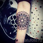 тату мандала на руке - фото пример готовой татуировки от 01052016 20
