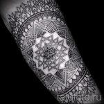 тату мандала на руке - фото пример готовой татуировки от 01052016 22