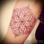 тату мандала на руке - фото пример готовой татуировки от 01052016 24