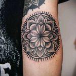 тату мандала на руке - фото пример готовой татуировки от 01052016 26