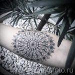 тату мандала на руке - фото пример готовой татуировки от 01052016 28