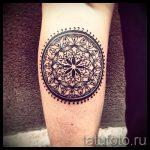 тату мандала на руке - фото пример готовой татуировки от 01052016 30