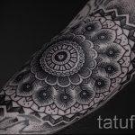 тату мандала на руке - фото пример готовой татуировки от 01052016 37