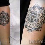 тату мандала на руке - фото пример готовой татуировки от 01052016 38