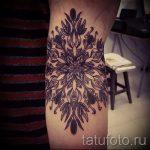 тату мандала на руке - фото пример готовой татуировки от 01052016 39