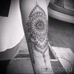 тату мандала на руке - фото пример готовой татуировки от 01052016 4