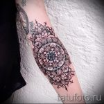 тату мандала на руке - фото пример готовой татуировки от 01052016 42