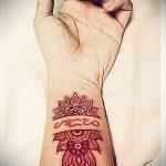 тату мандала на руке - фото пример готовой татуировки от 01052016 43