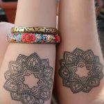 тату мандала на руке - фото пример готовой татуировки от 01052016 44