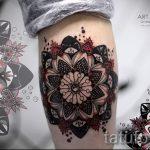 тату мандала на руке - фото пример готовой татуировки от 01052016 45