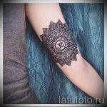 тату мандала на руке - фото пример готовой татуировки от 01052016 46