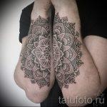 тату мандала на руке - фото пример готовой татуировки от 01052016 48