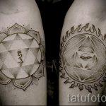 тату мандала на руке - фото пример готовой татуировки от 01052016 49