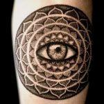 тату мандала на руке - фото пример готовой татуировки от 01052016 50