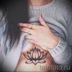 тату мандала под грудью - фото пример готовой татуировки от 01052016 20