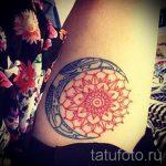 тату мандала солнце - фото пример готовой татуировки от 01052016 4