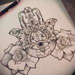 тату мандала эскизы на руку - рисунок для татуировки от 02052016 2