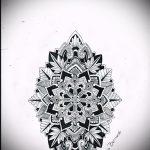 тату мандала эскизы на руку - рисунок для татуировки от 02052016 3