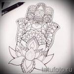 тату мандала эскизы на руку - рисунок для татуировки от 02052016 5