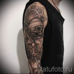 тату мандалы мужские - фото пример готовой татуировки от 01052016 5