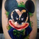 тату микки маус злой - готовая татуировка от 16052016 10
