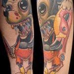 тату микки маус злой - готовая татуировка от 16052016 13