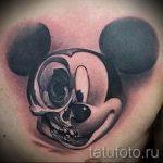 тату микки маус злой - готовая татуировка от 16052016 3