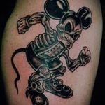 тату микки маус злой - готовая татуировка от 16052016 4