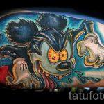 тату микки маус злой - готовая татуировка от 16052016 6