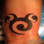 тату микки маус контур - готовая татуировка от 16052016 1