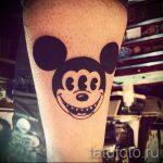 тату микки маус на руке - готовая татуировка от 16052016 11