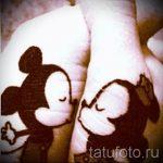 тату микки маус на руке - готовая татуировка от 16052016 12