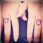 тату микки маус на руке - готовая татуировка от 16052016 19