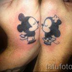 тату микки маус на руке - готовая татуировка от 16052016 2
