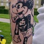 тату микки маус на руке - готовая татуировка от 16052016 20