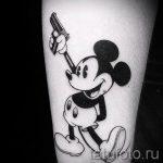 тату микки маус на руке - готовая татуировка от 16052016 23