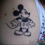 тату микки маус на руке - готовая татуировка от 16052016 27