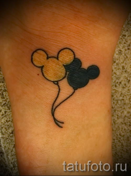 тату микки маус на руке - готовая татуировка от 16052016 6