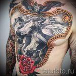 тату на руке доспехи - пример готовой татуировки от 16052016 6