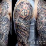 тату рукав доспехи - пример готовой татуировки от 16052016 9